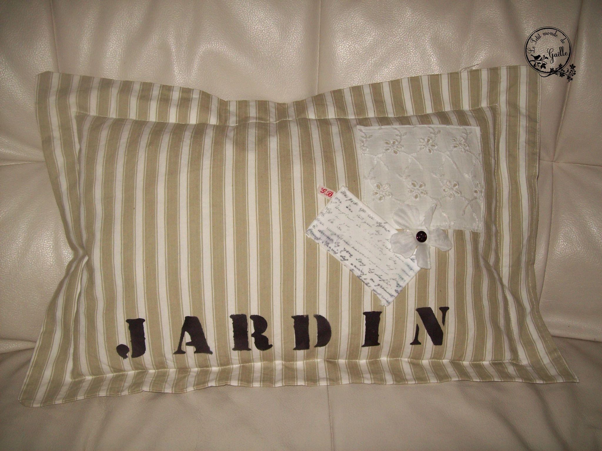 Coussin Jardin...