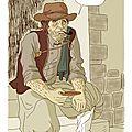 Un mendiant breton en 1843 (projet nathalie lemel extrait)