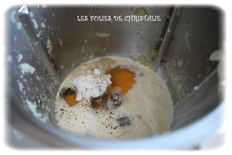 Clafoutis courgettes 3