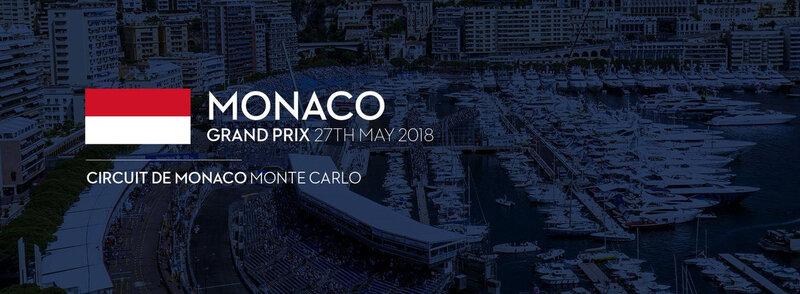 MONACO GRAND PRIX 2018 AFFICHE