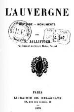 Jalliffier Auvergne couv
