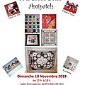 Exposition de patchwork à plumelin
