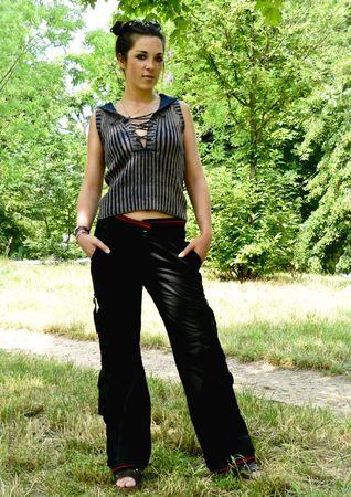 L07 - Pantalon noir
