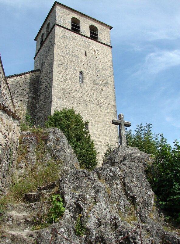 La Couvertoirade Église Saint-Christol 22