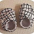 Chaussons croisés pour bébé