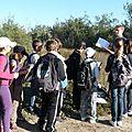 Les enfants découvrent l'étang de l'or (témoignage)