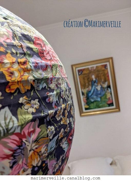 création bohème © marimerveille - la vierge au Buisson de roses