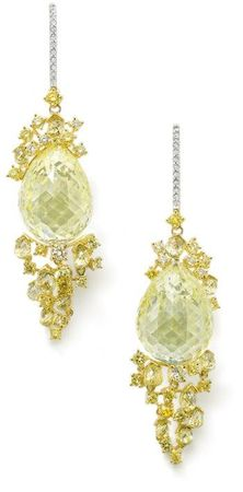 A_magnificent_pair_of_natural_fancy_yellow_diamond_ear_pendants__by_Michael_Youssoufian