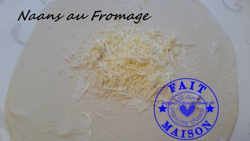 Naans au fromage 3