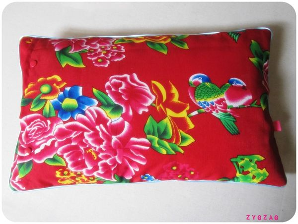 coussin chinois 50x30