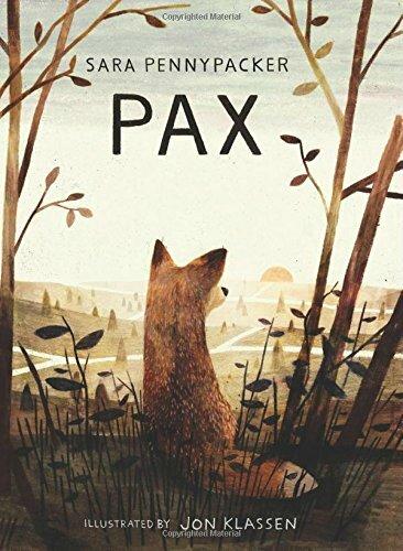 Pax et le petit soldat, de Sara Pennypacker, chez Gallimard ***