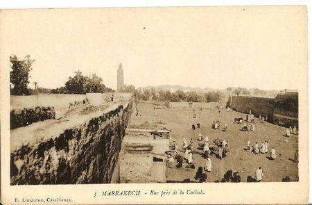 3 MARRAKECH Rue près de la Casbah