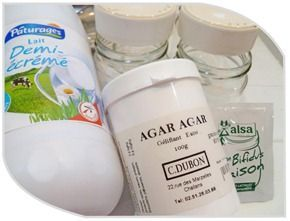 yaourts au ferment et à l'agar agar en multi délices1