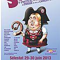 Betty caricaturiste, 9ème festival du dessin d'humour de presse et de la caricature, selestival, sélestat alsace
