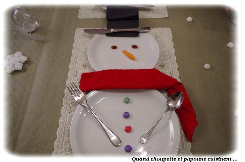 table bonhomme de neige-2825