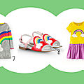 Rainbow week day 2 : rainbow fashion