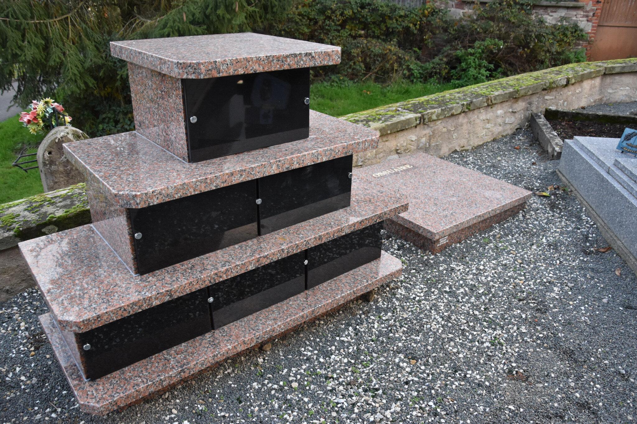 La commune équipe son cimetière d'un columbarium