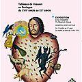 Les missions bretonnes, exposition à la chapelle du 10 juillet au 27 septembre 2015 du mardi au dimanche de 14h à 18 h