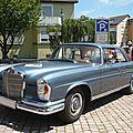 MERCEDES 250 SE W111 coupé 1967 Gundelfingen (1)