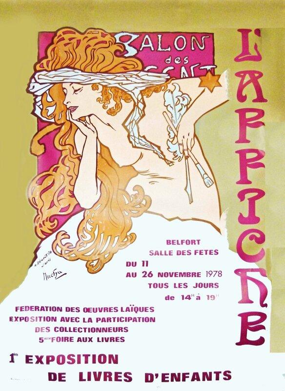 Foire aux livres 1978 Affiche