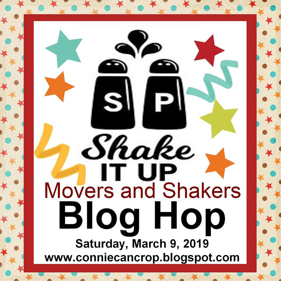Shake it up Blog hop: shaker rings