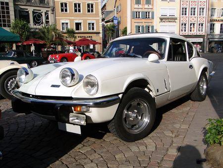 TRIUMPH GT6 Mk III de 1970 1973 Festival Automobile de Mulhouse 2009 1