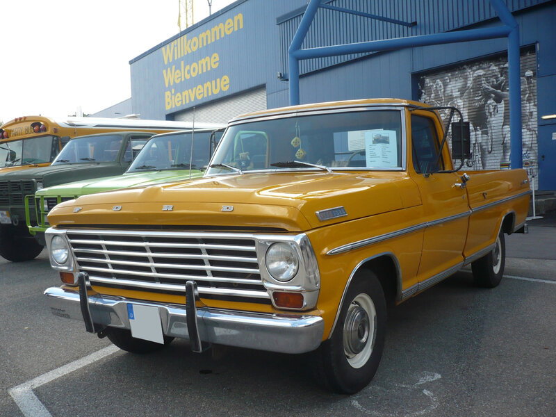 FORD F-100 Ranger 2door pick-up 1967 Sinsheim (1)