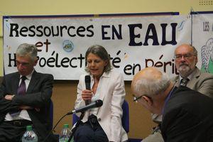 Marie-France Kurdziel barrages Sélune législatives 2012 Ducey réunion débat