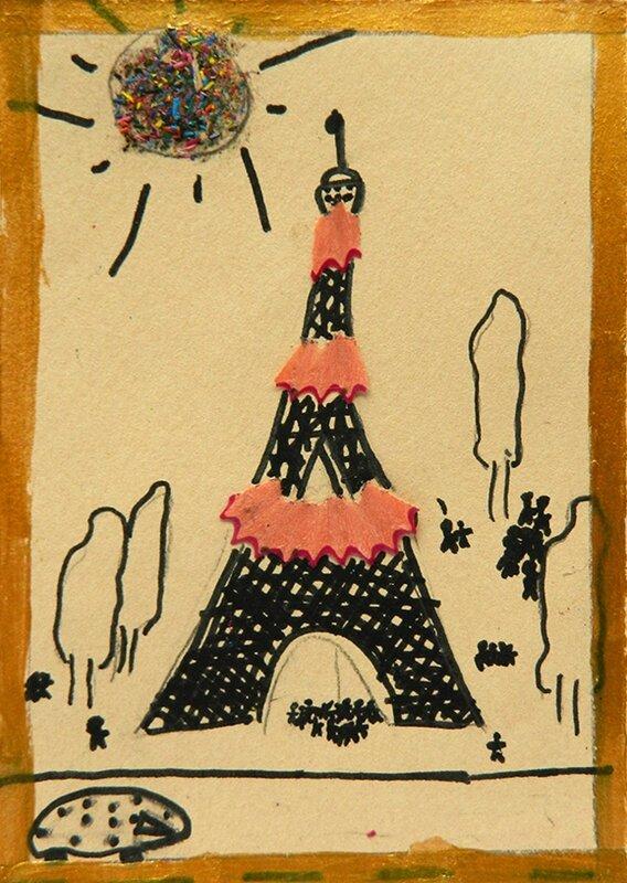 carte de voeux,carte noel,idee activite enfant,recyclage,copeaux de crayon,carte,noel,enfant,tuto,diy8 blog