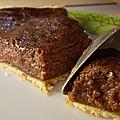 Recette tarte chocolat