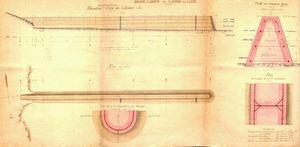 CH01 - Plan de la digue de 1904