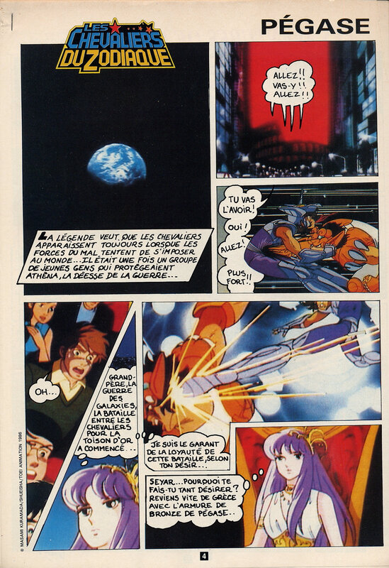 Canalblog Anime Album Anime comics Saint Seiya01 Club Do