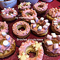 Brioches - donuts roses