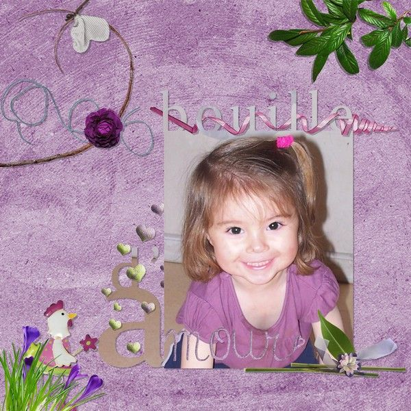 Template Bouille d'amour/Magalie