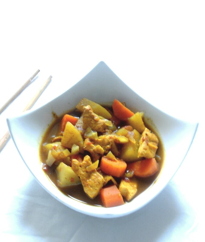 curry d'inspiration japonaise2