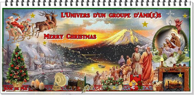 Bannière Merry Christmas