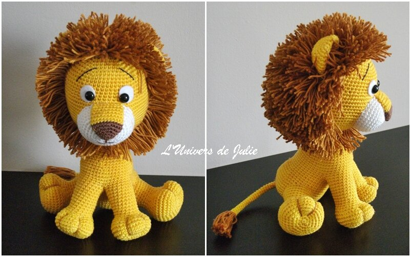 Lion Havva Designs L'Univers de Julie