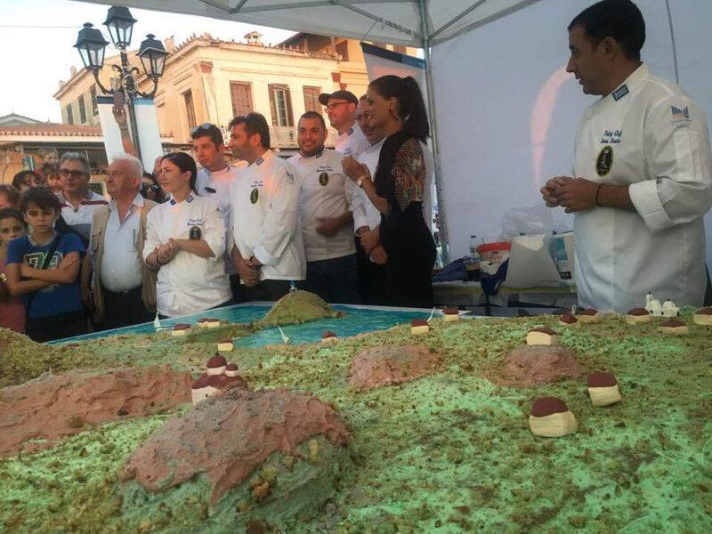festival pistache gâteau Egine