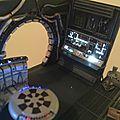 Deagostini MF 088 Petit test en place...nickel! Je vais pouvoir faire tuyaux et détails restant, sans oublier le siége bien-sûr!