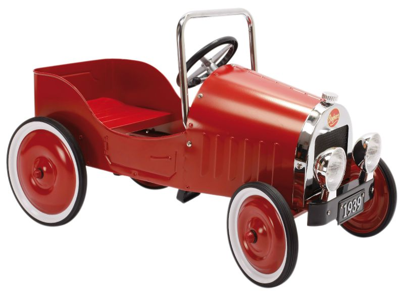 VOITURE A PEDALES CLASSIC ROUGE