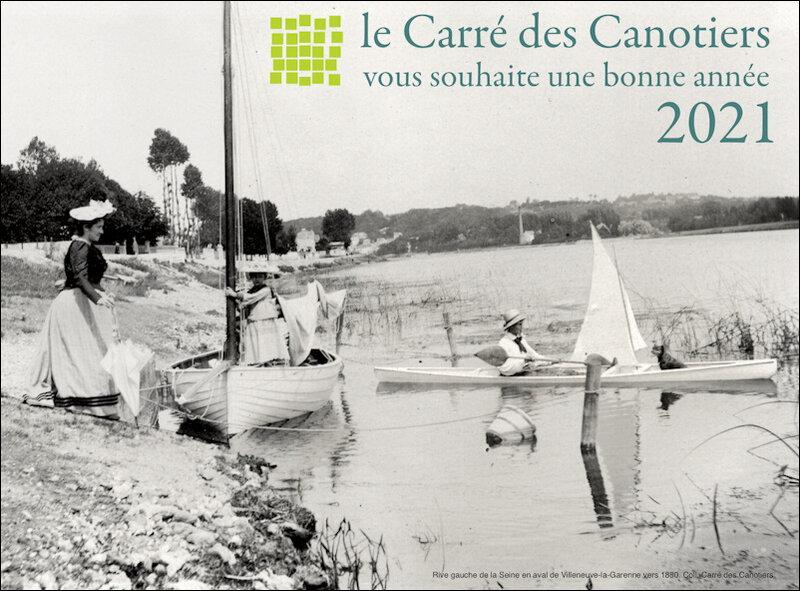 Carré des Canotiers voeux 2021