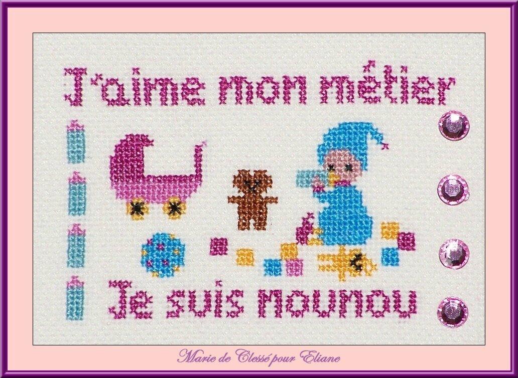 Échange ATC Chez Véro (Métiers) Marie de Clessé pour Éliane [1]