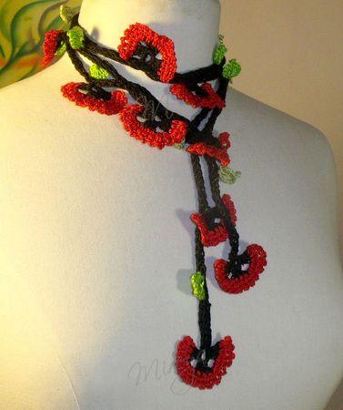 Coquelicots crochet 1