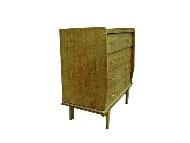 commode vintage bois massif