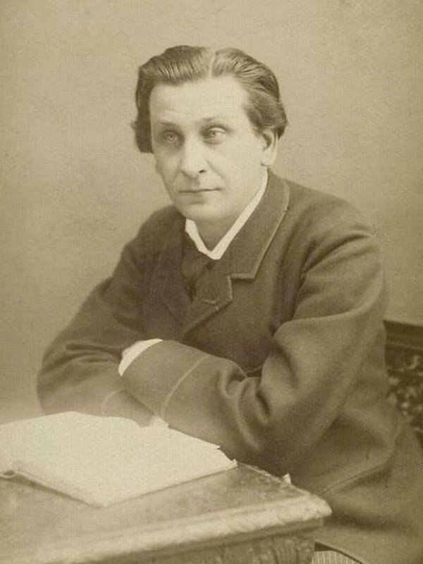 François Coppée portrait