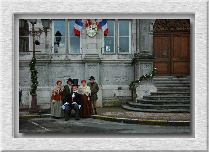 parvis de la mairie de bergues