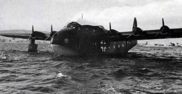 By-222 Viking de la Luftwaffe à Biscarosse en 1944