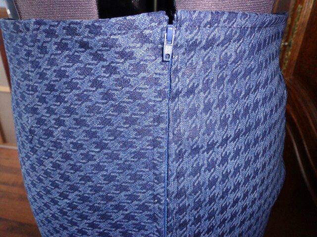 jupe pied de poule jeans 007 (Copier)
