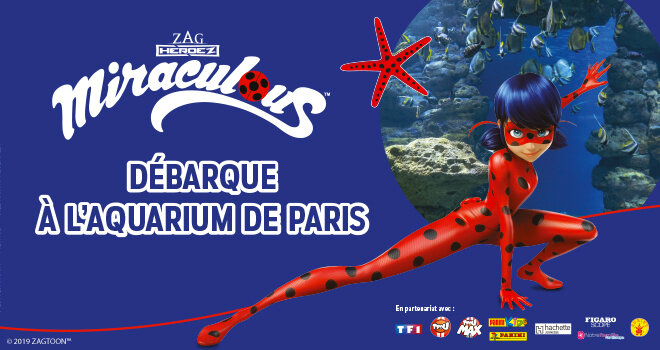 Affiche Miraculous Aquarium Paris