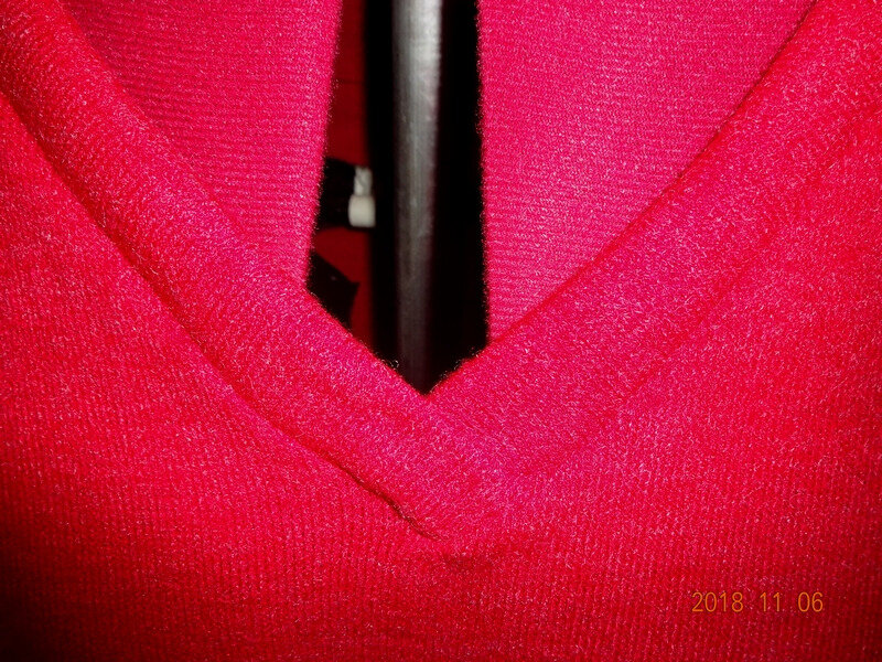 pull oversize rouge 2
